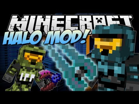 Minecraft   HALO MOD! (Mongoose. Energy Sword. Epic Weapons & More!)   Mod Showcase
