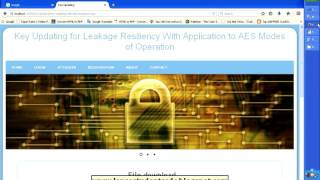 Key Updating for Leakage Resiliency With Application to AES Modes of Operation