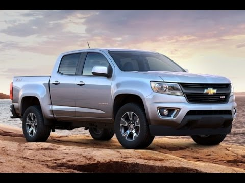 2015 Chevrolet Colorado Start Up and Review 3.6 L V6