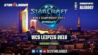 2018 WCS Leipzig - Final: SHoWTimE (P) vs Serral (Z)