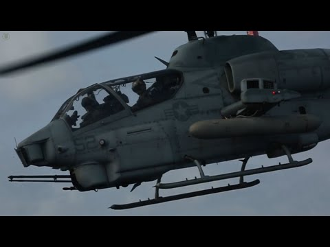 U.S. Marine Corps Air Operations Aboard the USS Green Bay