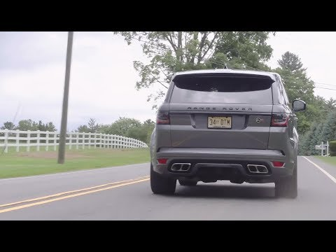 The Range Rover Sport SVR Is the Classy Thundertruck