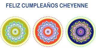 Cheyenne   Indian Designs - Happy Birthday