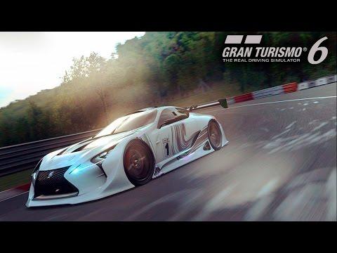 Lexus LF-LC GT Vision Gran Turismo | Суперлицензия 10 кругов Suzuka | Gran Turismo 6