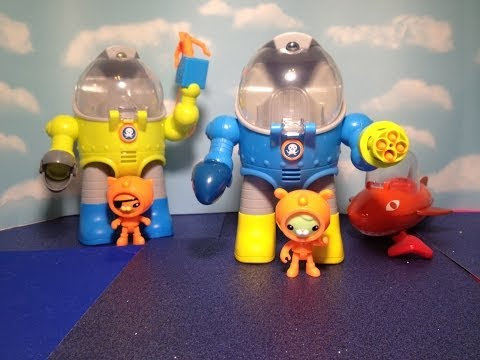 Disney Junior Octonauts Tweak's Octo Max Suit Disney Octonaut Playset Toy