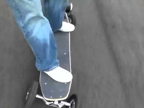 E-Glide Electric skateboarding