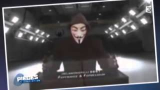 anonymous. la guerre est declare : Pices conviction Internet