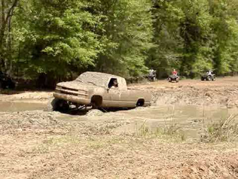 HUGE MUD TRUCK Chevy Silverado on 54