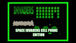 Atari Space Invaders Cell Phone edition