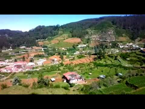 Ooty city full view