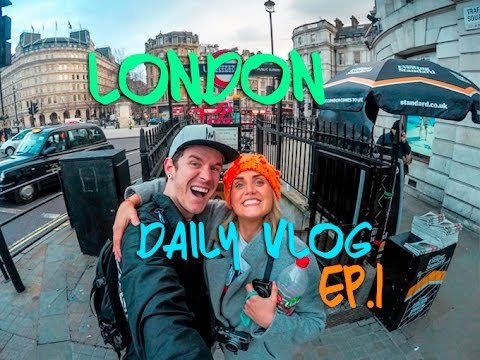 Kinging-It London - Daily Vlog Ep. 1: David Bowie Memorial | Camden Markets  | Big Ben