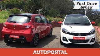 Tata Tiago JTP and Tigor JTP First Drive Review - Autoportal