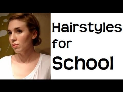 Easy Everyday School Hairstyles for Medium hair to Long Hair