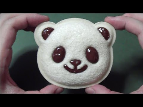 White Bread Panda Sandwich (Edible / can eat)