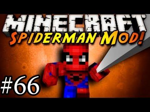 Человек-ПЕТРОВИЧ! Обзор Мода Minecraft! (SpiderMan Mod) №66