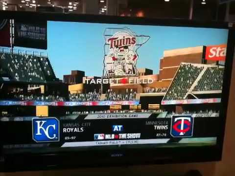 MLB 10 The Show: Best Buy Kiosk Demo - Target Field Intro Video