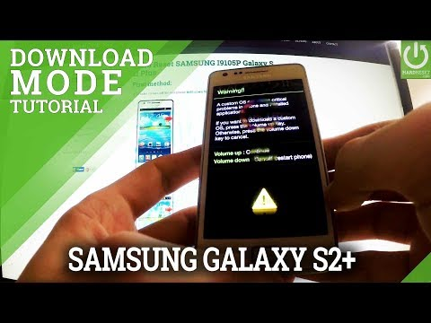 DOWNLOAD MODE: SAMSUNG I9105 Galaxy S II Plus - HOW TO ENTER !