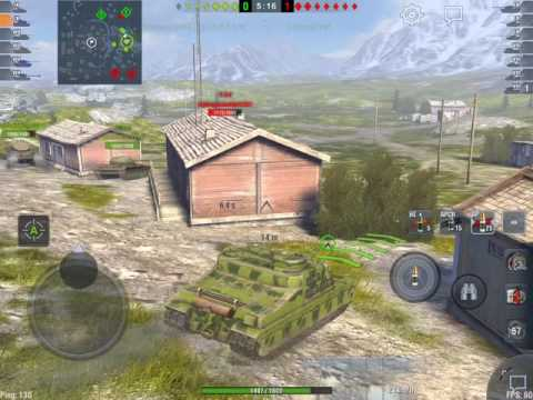 World of Tanks Blitz - Tortoise vs mediums