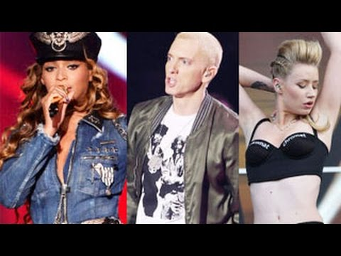 MTV VMA 2014 Nominations -- Eminem, Miley Cyrus, Beyonce, Iggy Azalea, Katy Perry & More