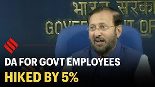 Central Govt Announces 5% Hike in Dearness Allowance (DA)
