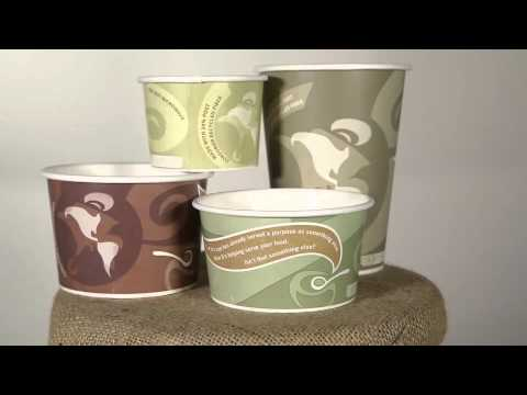 Eco-Products Recycled Content Hot and Cold Food Containers