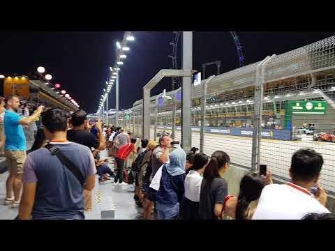 Singapore F1 Free Practice 2