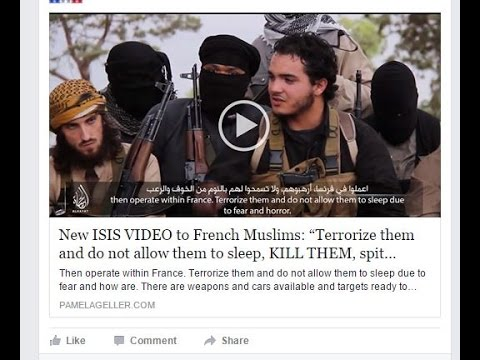 "New ISIS VIDEO urges French Muslims: ""Terrorize them and do not allow them to sleep"