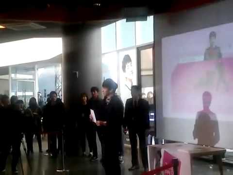14.03.14 WMP White Day Date Fancam 3 - Lee Seung Gi
