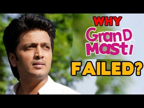Is Riteish Deshmukh Making Fun Of Grand Masti ? video