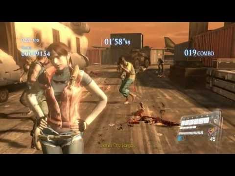 Resident evil 6 PC -  play as Claire Redfield