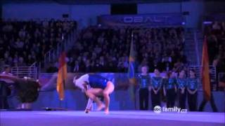 Make it or Break it Kaylie floor routine