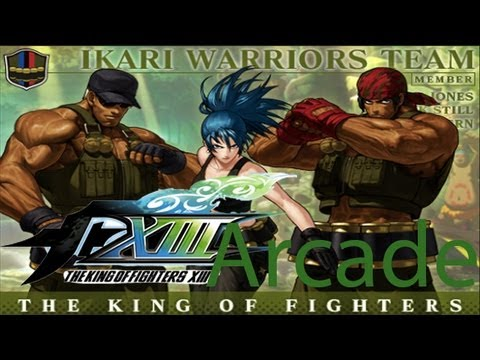 The King Of Fighters XIII Arcade - Ikari Warriors Team