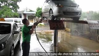 Tư vấn lắp đặt cầu nâng 1 trụ rửa xe ô tô chuyên nghiệp
