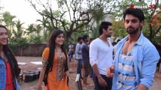 Kahaani Hamari | Fun With the cast | Karan Wahi teasing his Co-stars
