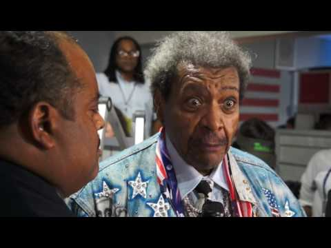 Don King, bumped from RNC speakers list, talks Trump: 'we're going to tear this system down'