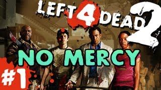 L4D2: zombies |No Mercy| Pt.1 with GUNNS and Bentley