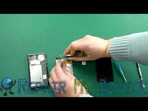 Nokia Lumia 800 LCD screen replacement disassembly instructions