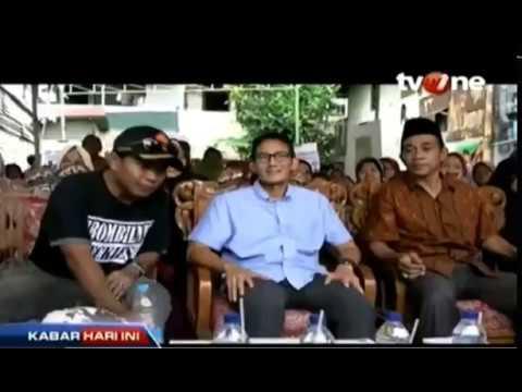 MEMILIH PEMIMPIN DKI JAKARTA : PARA PASLON BEREBUT HATI WARGA DENGAN JANJI-JANI MANIS..