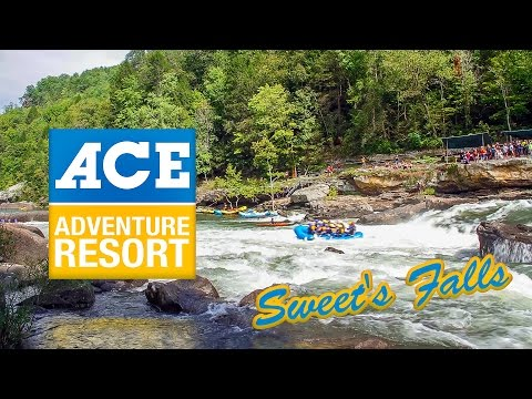 ACE Adventure Resort Gauley River Time Lapse - Sweets Falls