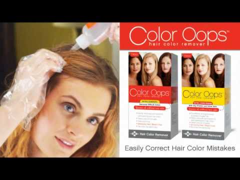 Color Oops Commercial