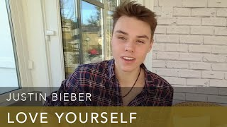 Download Lagu Justin Bieber - Love Yourself - Cover Gratis STAFABAND