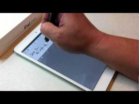 iPad mini take note/ handwriting with DAGi stylus P603