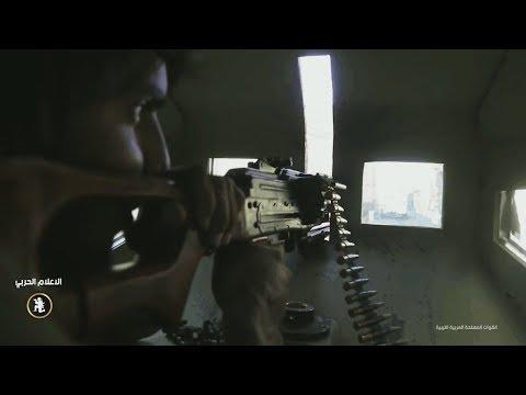 Ливийская армия в тяжелых боях с моджахедами во время битвы за город Дерна