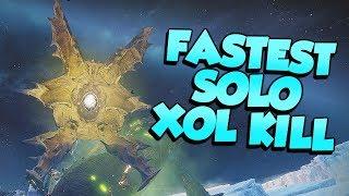 FASTEST Solo Xol Kill! Will Of The Thousands Nightfall [Destiny 2]