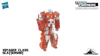 Transformers Combiner Wars Voyager Class Scattershot Video Review