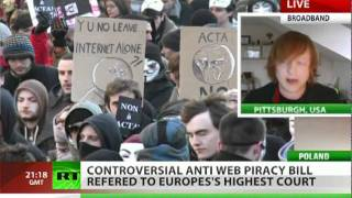 Megauproar: 'ACTA targets & harms legal users'