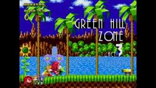 Sonic Classic Heroes Multiplayer Part 1 - Green Hill Zone