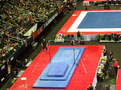 Danell Leyva 2012 Olympic Trials Day 1 - High Bar