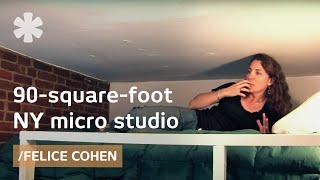 Simple life Manhattan: a 90-square-foot microstudio