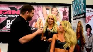 Maryse Ouellet & Barbie Blank Interview @ Salt Lake Comic Con FanX 2014 - UGeekTV S03E01f